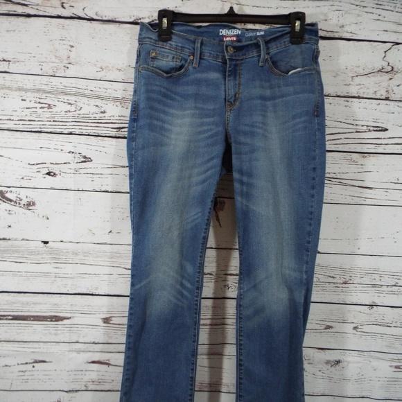 5543a50a4a5cb Denizen from Levi s Denim - Denizen by Levi s Curvy Slim Fit Blue Jeans